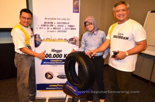 Goodyear Indonesia Luncurkan Ban Assurance DuraPlus